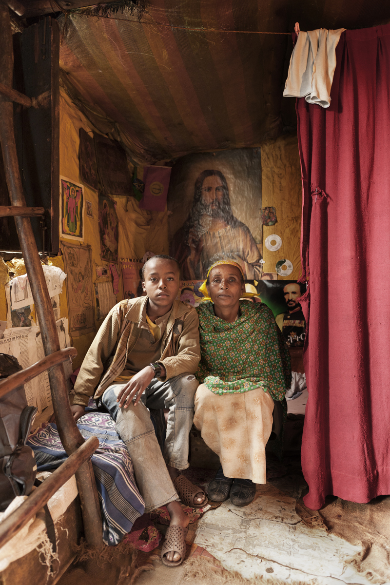 """David Brunetti Documentary Photographer Ethiopia Addis (un)safe homes"""