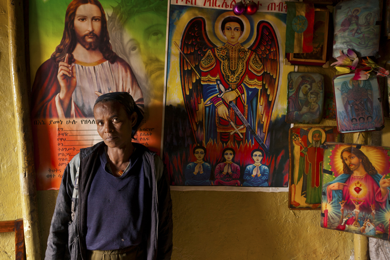 """David Brunetti Photography, holy father, Ethiopia"""