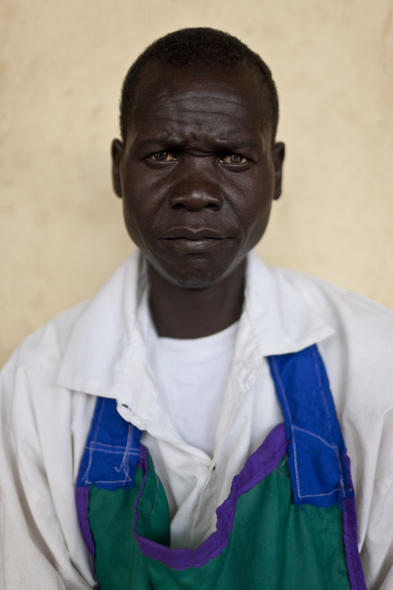 """David Brunetti photographer, Uganda, Pader, ex-LRA fighter"""