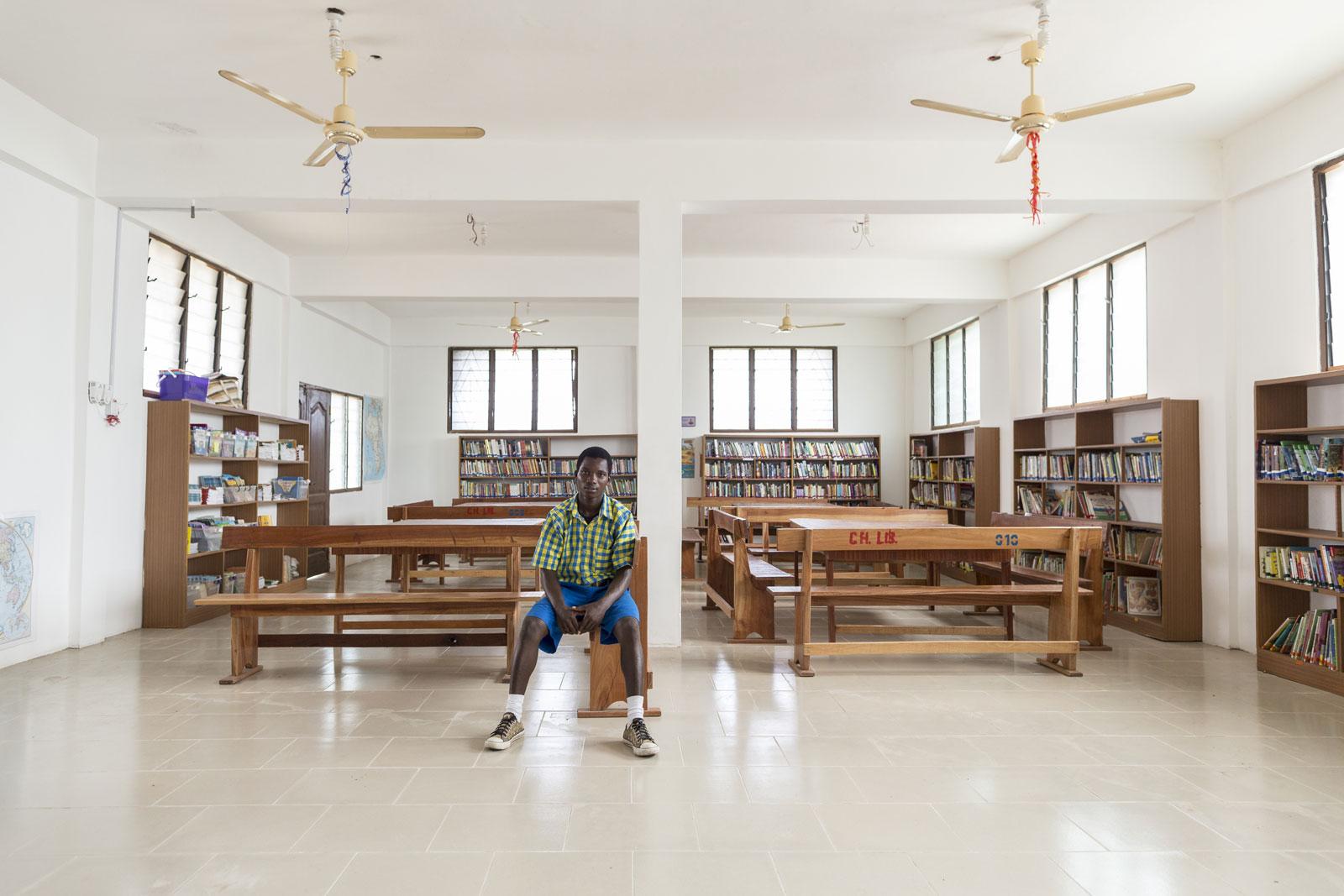 A School In Ghana